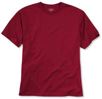 L.L. Bean L.L.Bean Carefree Unshrinkable T-Shirt, Short-Sleeve