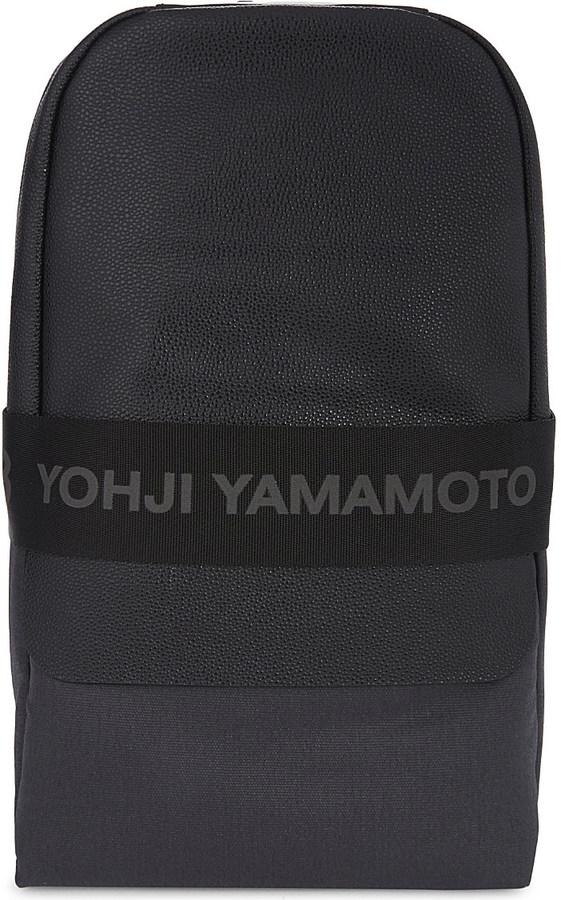 Y-3Y3 Qasa leather backpack