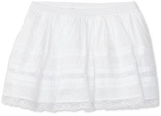 Ralph Lauren Lace-Trim Skirt, Toddler & Little Girls (2T-6X) $49.50 thestylecure.com