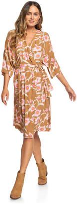 Roxy Privy Places Kimono Wrap Dress