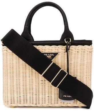 Prada beach tote bag
