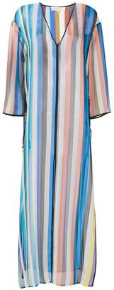 Diane von Furstenberg striped long dress