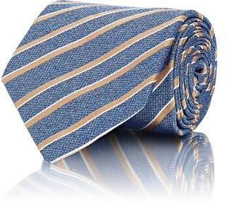 Isaia Men's Striped Silk Repp Necktie