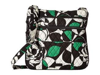 Vera Bradley Triple Zip Hipster Cross Body Handbags