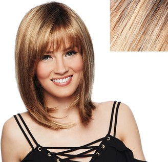 Hairdo. by Jessica Simpson & Ken Paves So Voluminous Mid Length Textured Fringe Cut Wig