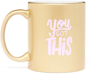 Talking Out Of Turn You Got This Gold Mug