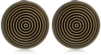 Missoni Graphic Modernist Resin Clip-On Earrings