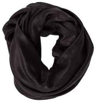 Barbara Bui Solid Knit Infinity Scarf