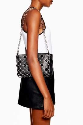 Topshop Womens Jewel Chain Shoulder Bag