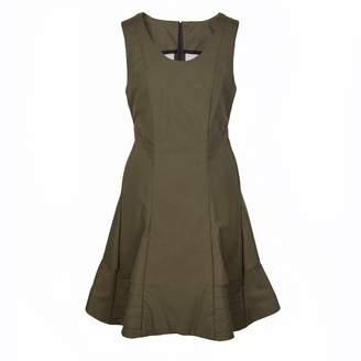 Tiska London Vald Dress Khaki
