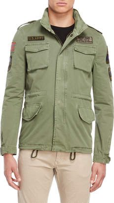 Gaudi' Gaudi Patch Army Green Parka