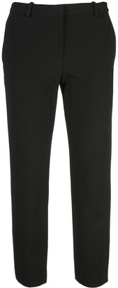 Theory cropped mid-rise trousers