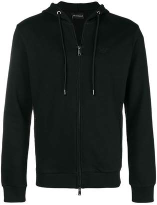 Emporio Armani hooded zipped jacket