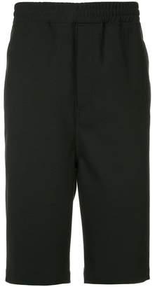 Neil Barrett side stripe shorts
