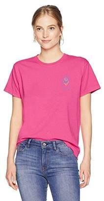 Obey Women's Rosette Long Sleeve Crew Neck T-Shirt