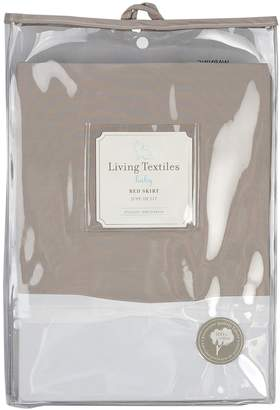 Living Textiles Solid Bed Skirt