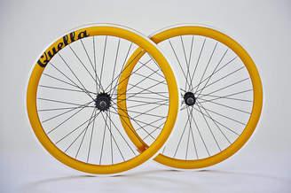 Quella Bicycle Ltd Deep V Fixed Gear Single Speed Wheelset