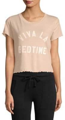 Wildfox Couture Sydney Viva La Bedtime Cotton Tee