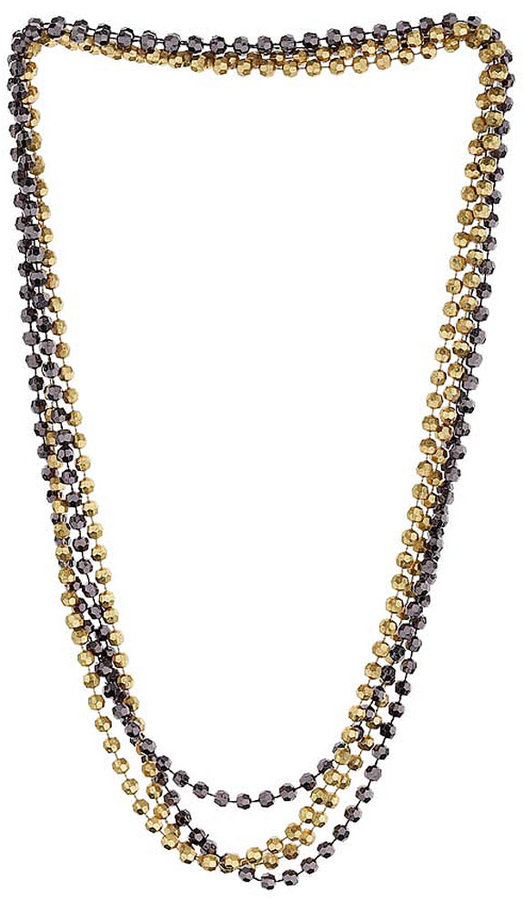 4 Row Bead Necklace