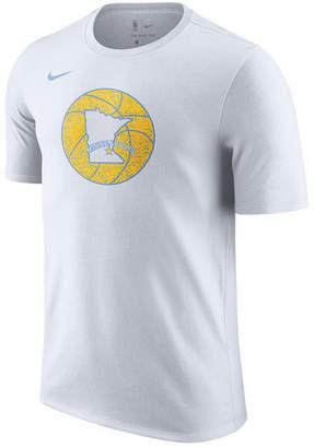 Nike Men's Los Angeles Lakers Hardwood Classics Logo T-Shirt