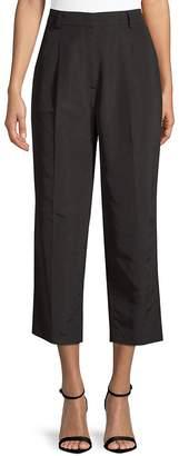 Escada Women's Cropped Silk-Blend Trousers