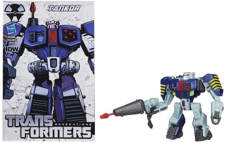 Transformers Generations Deluxe Tankor Action Figure