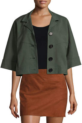 Derek Lam 10 Crosby Cropped Jacket