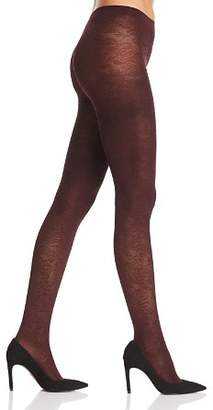 Falke Kyoto Embossed Floral Opaque Tights