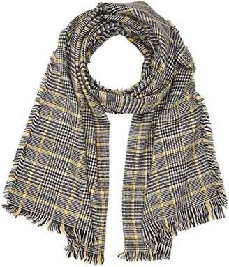 New Look Women's 5878315 Scarf, (Black Pattern), One (Size: 99)