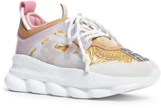 Versace First Line Chain Reaction Platform Sneaker