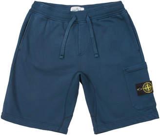 Stone Island Sweat Shorts - Petrol Blue