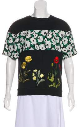 Stella McCartney Embroidered Printed Sweatshirt