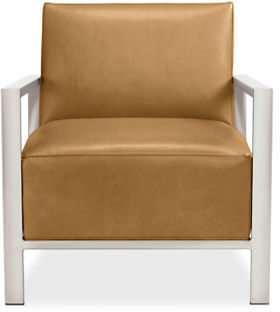 Zinc Leather Chair