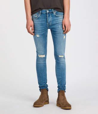 AllSaints Dunk Cigarette Skinny Jeans