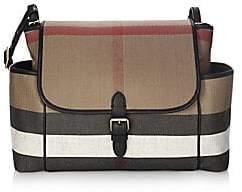 Burberry Women's Snap-Flap Diaper Bag