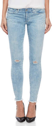 AG Adriano Goldschmied Stonewash The Legging Ankle Jeans