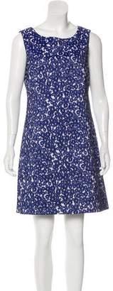 Cynthia Steffe A-Line Floral Print Mini Dress