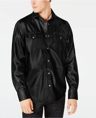INC International Concepts I.n.c. Men's Rayon Shirt Jacket