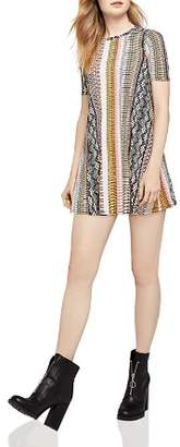 BCBGeneration Tropical A-Line Mini Dress