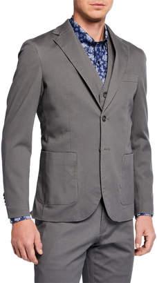 Joe's Jeans Men's Cotton Twill Blazer Jacket