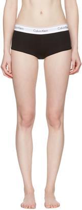 Calvin Klein Underwear Black Modern Boy Shorts $20 thestylecure.com