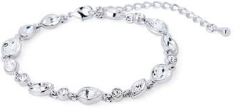 Nina Silver-Tone Swarovski Bracelet