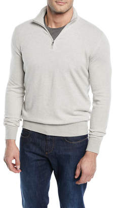 Loro Piana Roadster 1/4-Zip Cashmere Sweater