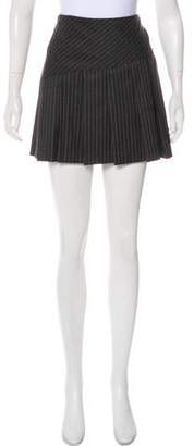 Diane von Furstenberg Striped Mini Skirt