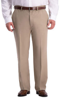 Haggar Cool 18 Pro Flat Front Pant- Big & Tall