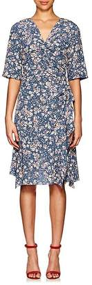 Isabel Marant Women's Brodie Floral Stretch-Silk Dress