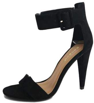 Bamboo Ankle Strap Heel