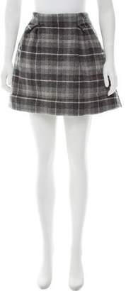 Thakoon Plaid Mini Skirt w/ Tags