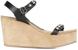 Pedro Garcia 'Diem' wedge sandals