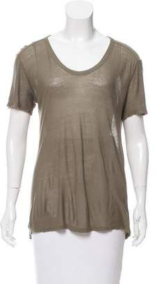 Alexander Wang Oversize Scoop Neck T-Shirt